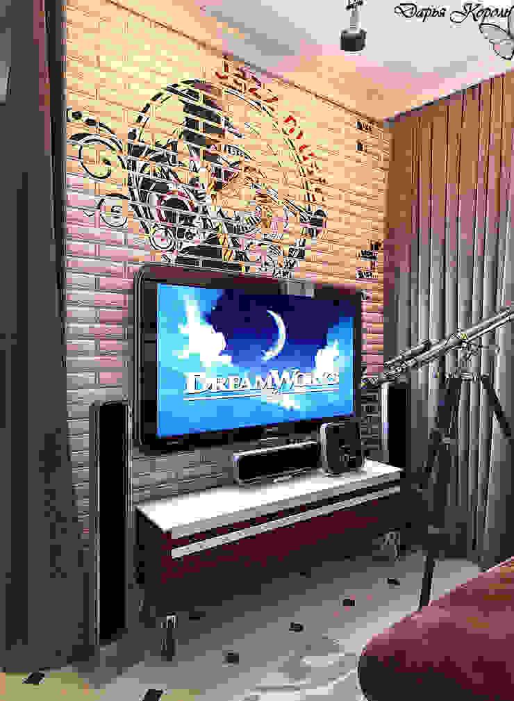 studio room Гостиные в эклектичном стиле от Your royal design Эклектичный