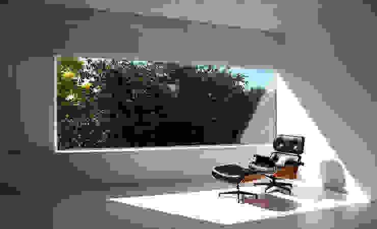 Living room Window Minimalist living room by Ed Reeve Minimalist