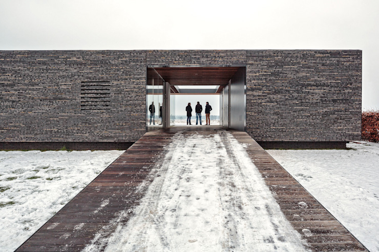 Villa SR Moderne huizen van reitsema & partners architecten bna Modern
