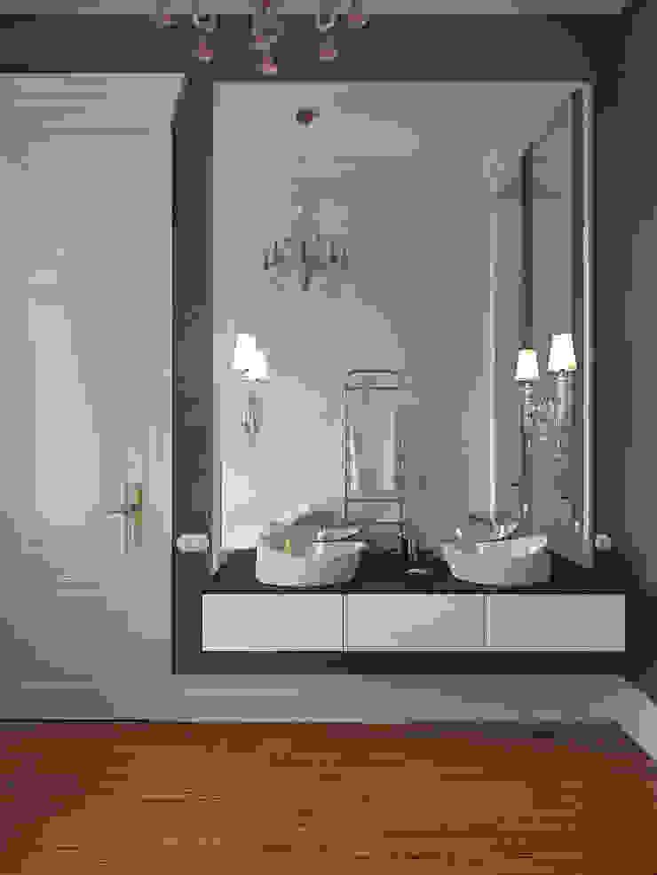 Eclectic style bathrooms by Архитектурное бюро Андрея Стубе Eclectic