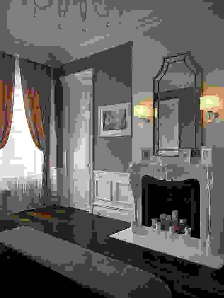Chambre originale par Архитектурное бюро Андрея Стубе Éclectique