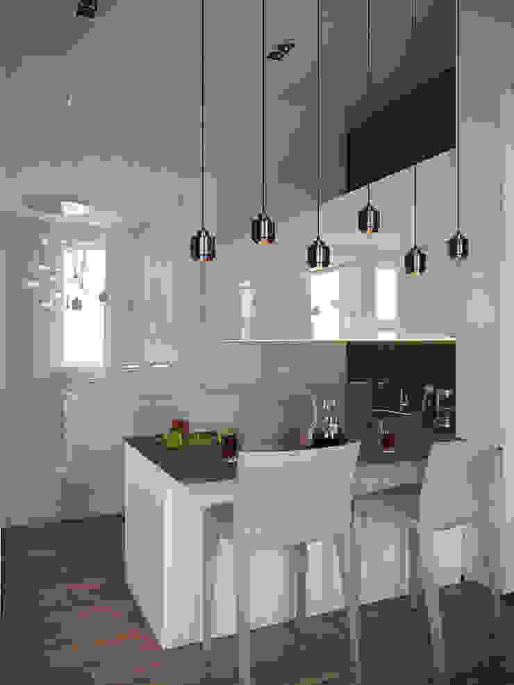 Архитектурное бюро Андрея Стубе Modern kitchen
