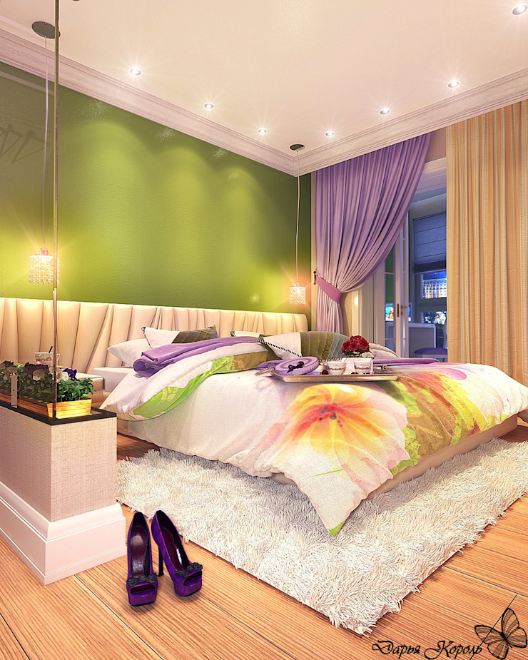 Eclectic style bedroom by Your royal design Eclectic