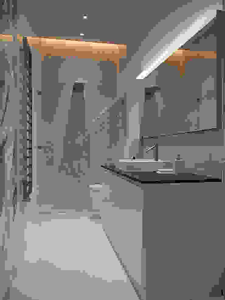 Архитектурное бюро Андрея Стубе Modern bathroom