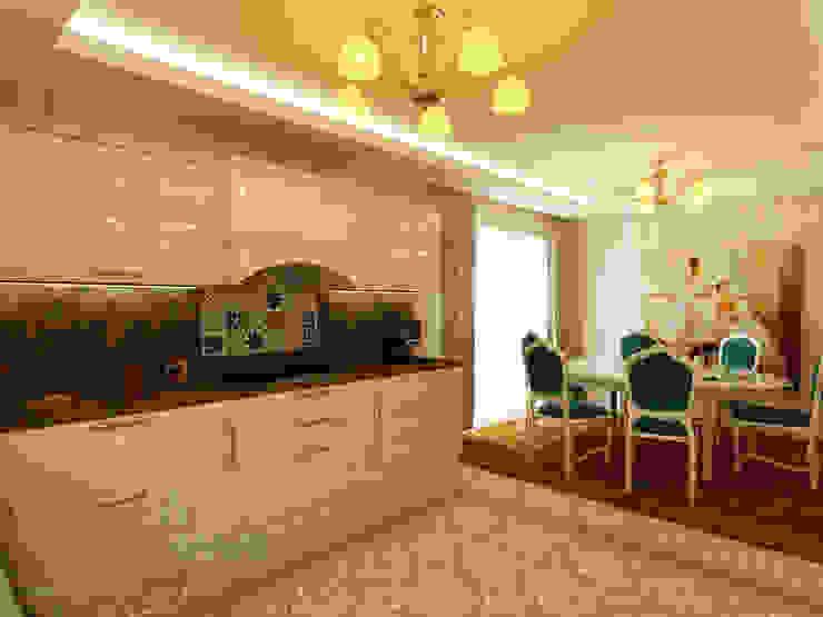 Kitchen by Teknik Sanat İç Mimarlık Renovasyon Ltd. Şti.,