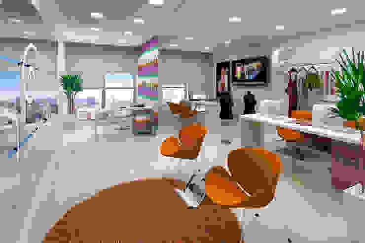 Projeto arquitetônico de área interna comum do America Office Center Escritórios ecléticos por ArchDesign STUDIO Eclético
