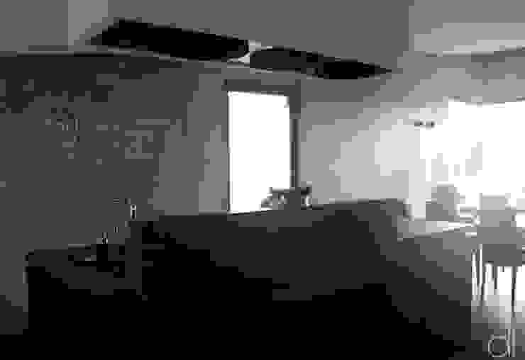 Neubau WOHNHAUS Minimalistische Küchen von di architekturbüro Minimalistisch