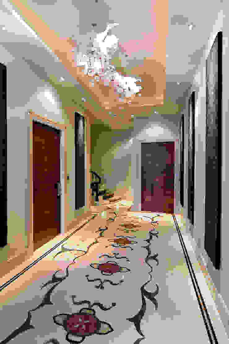 Lancaster Gate Modern corridor, hallway & stairs by Simply Italian Modern