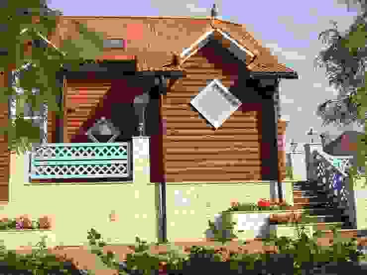 Дом Дома в рустикальном стиле от архитектурная мастерская МАРТ Рустикальный
