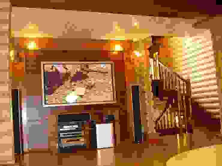 Дом Гостиная в рустикальном стиле от архитектурная мастерская МАРТ Рустикальный