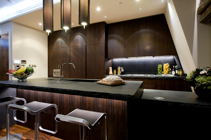Lancaster Gate Modern Kitchen by Simply Italian Modern
