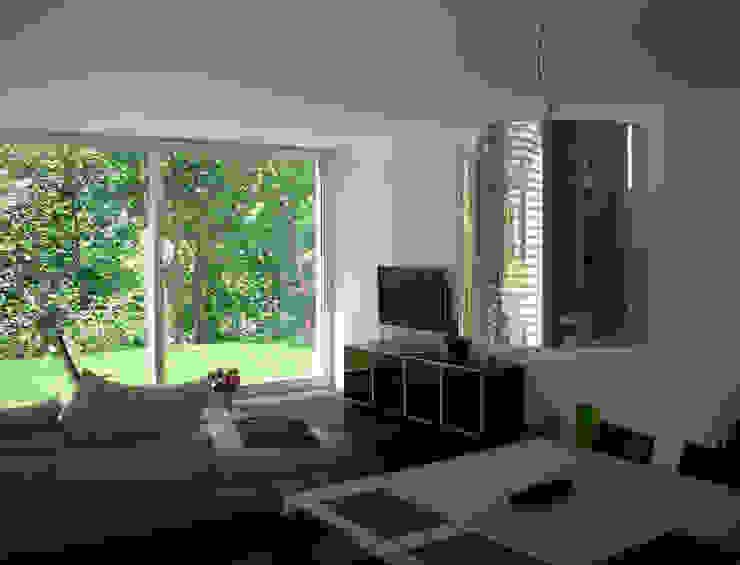EFH Steinbreite, Ehrendingen, 2009 Moderne Wohnzimmer von 5 Architekten AG Modern