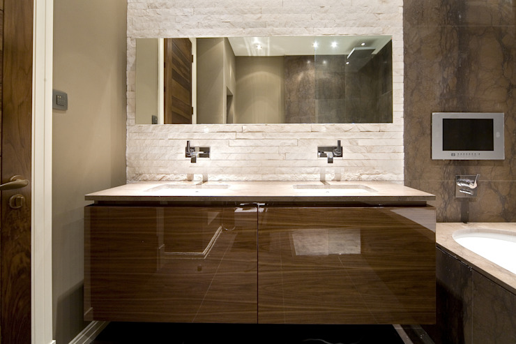 Lancaster Gate Modern Bathroom by Simply Italian Modern
