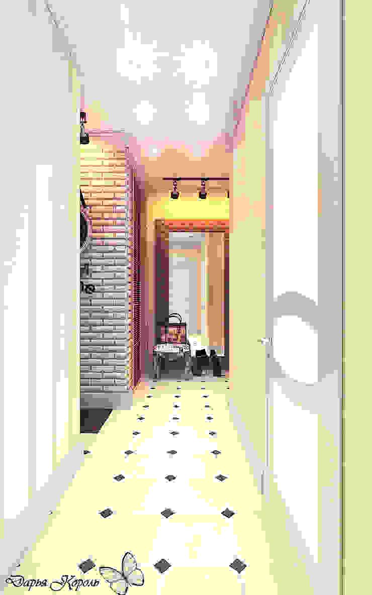 hall Коридор, прихожая и лестница в стиле лофт от Your royal design Лофт