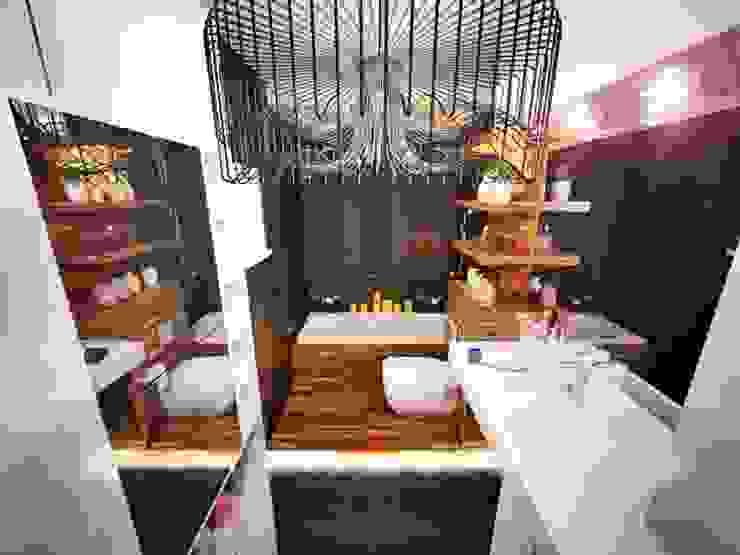 Ванные комнаты от O2interior Минимализм
