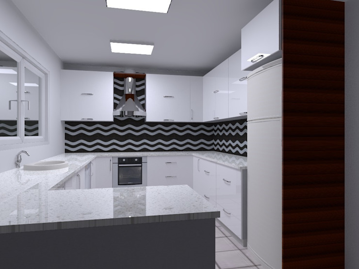 mutfak Modern Mutfak ALTİNELLER MUTFAK Modern