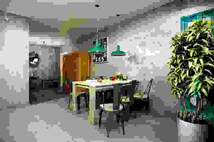 Cocinas de estilo industrial de CO:interior Industrial