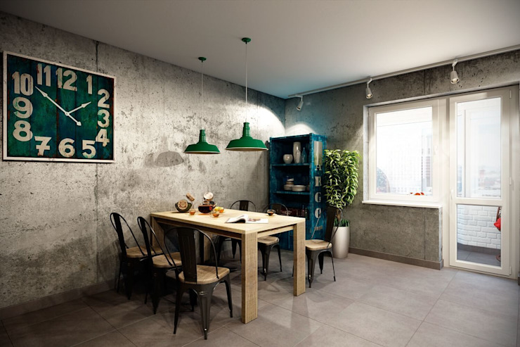 Industrial style kitchen by CO:interior Industrial