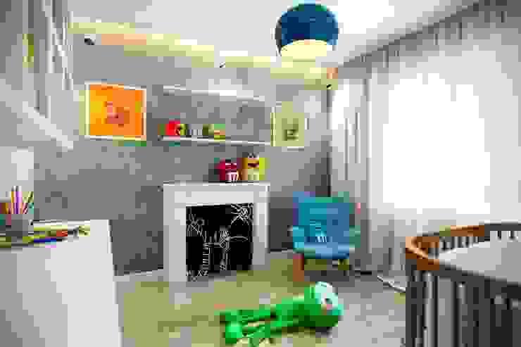 Industrial style nursery/kids room by CO:interior Industrial