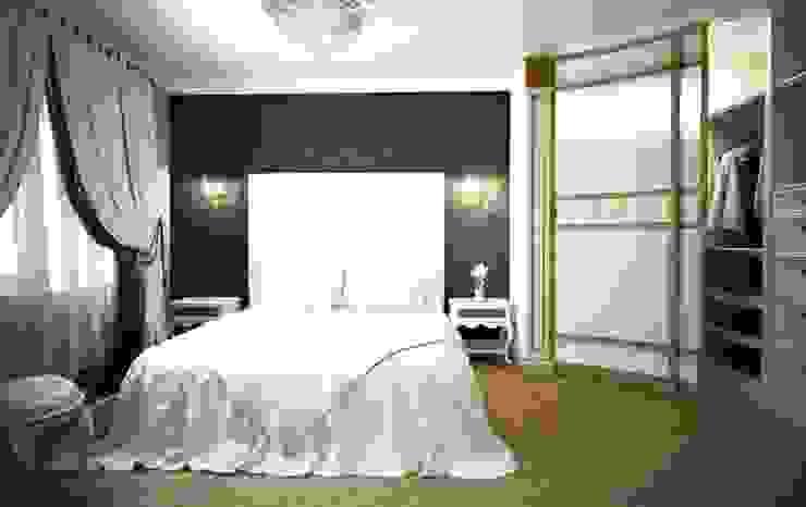 Дизайн интерьера спальни в классическом стиле Спальня в классическом стиле от Альбина Романова Классический