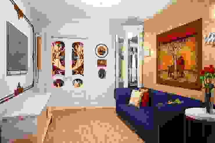 Дизайн интерьера гостиной в классическом стиле Гостиная в классическом стиле от Альбина Романова Классический