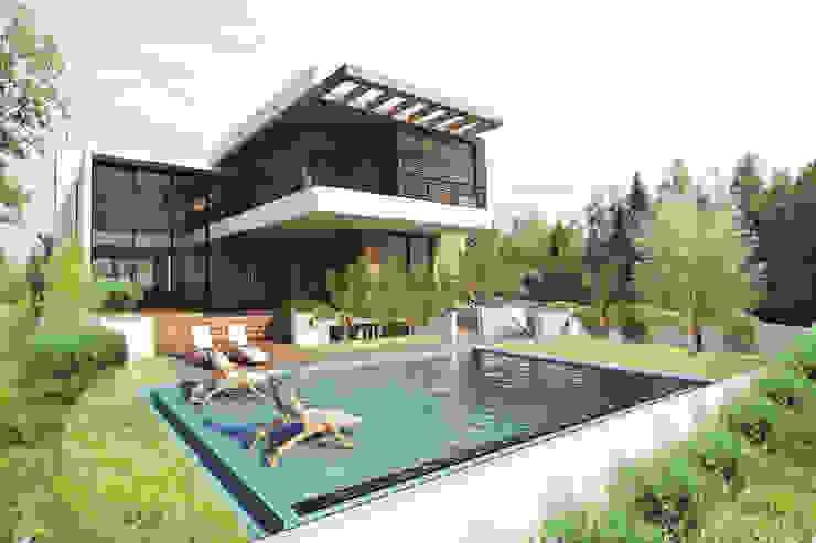 Casa MJD Casas modernas por Mantovani e Rita Arquitetura Moderno