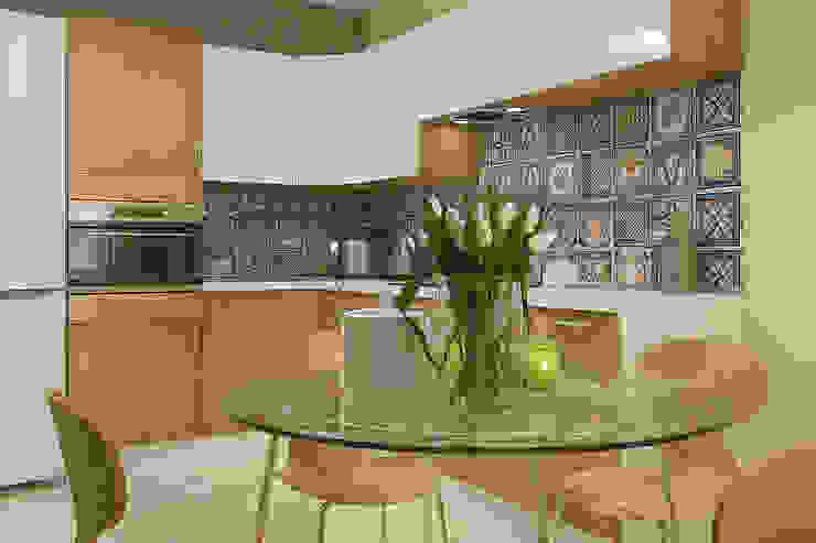 Деревянная шкатулка Кухня в скандинавском стиле от CO:interior Скандинавский