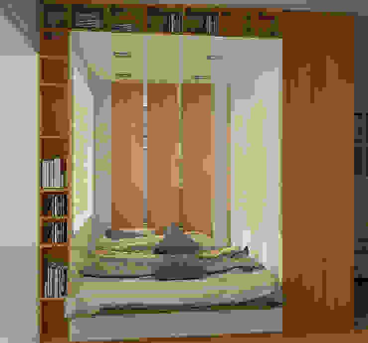 Деревянная шкатулка Спальня в скандинавском стиле от CO:interior Скандинавский