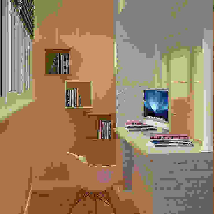 Деревянная шкатулка Рабочий кабинет в скандинавском стиле от CO:interior Скандинавский
