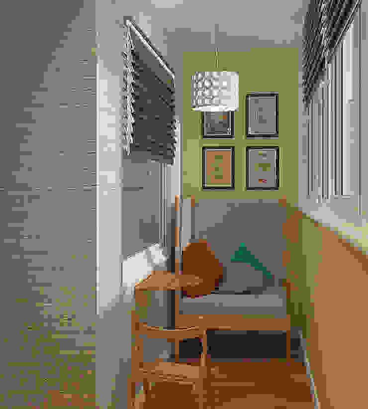 Деревянная шкатулка Балкон в скандинавском стиле от CO:interior Скандинавский