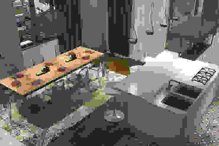 Активные акценты Кухня в стиле лофт от CO:interior Лофт