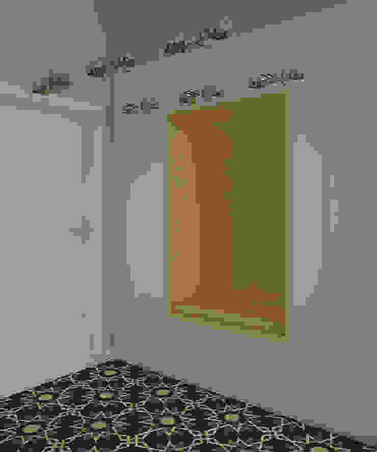 Активные акценты Коридор, прихожая и лестница в стиле лофт от CO:interior Лофт