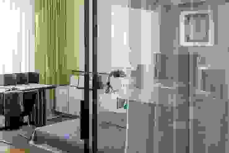 """Квартира 89 м2, в жилом комплексе """"Английский квартал"""" Спальня в эклектичном стиле от Дизайн-бюро Галины Микулик Эклектичный"""