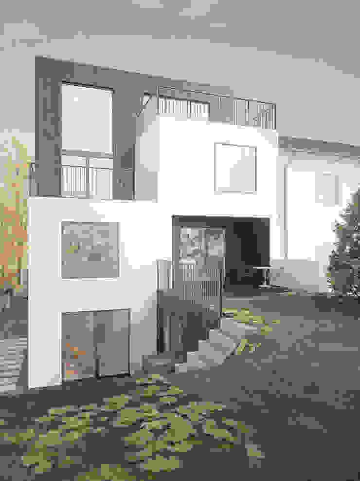 Dom OJ Nowoczesne domy od PB/STUDIO Nowoczesny