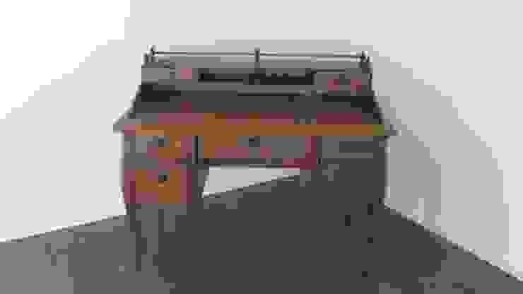 Antik Schreibtisch von Antik & Kunst Nermesan Klassisch