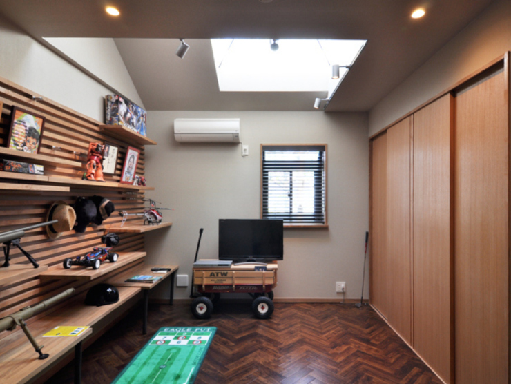 世代交代した家 すくすくリノベーション vol.2 オリジナルデザインの 子供部屋 の 株式会社エキップ オリジナル