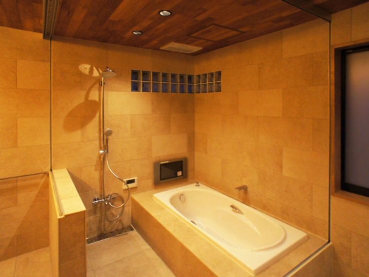 Eclectic style bathrooms by 株式会社エキップ Eclectic