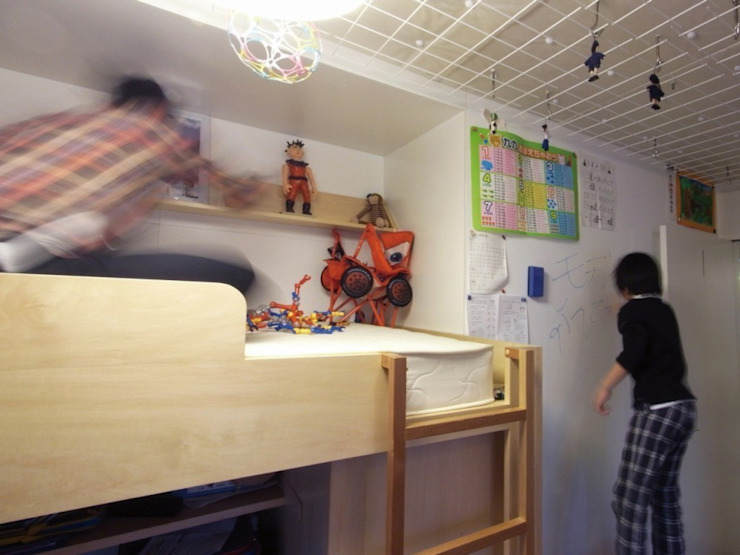 ダブルリビングのある家 すくすくリノベーション vol.1 オリジナルデザインの 子供部屋 の 株式会社エキップ オリジナル