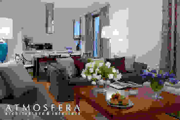 Квартира Гостиная в классическом стиле от ATMOSFERA Классический