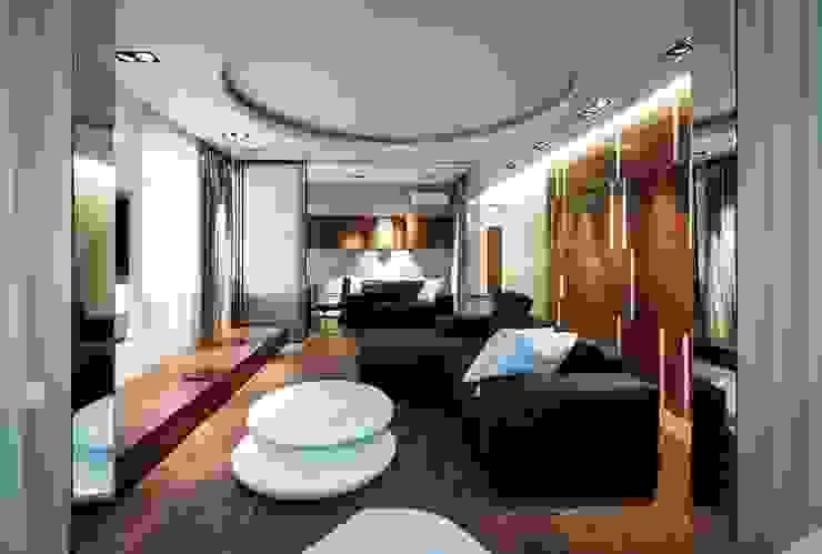 Archibrook Livings de estilo moderno