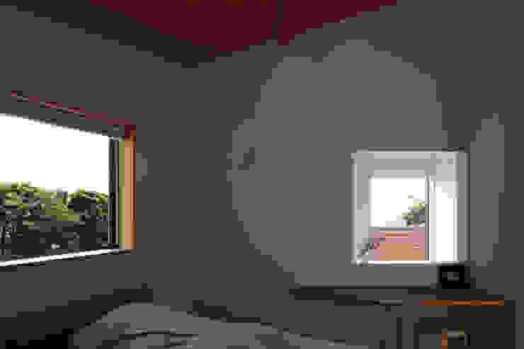 長浜信幸建築設計事務所 Scandinavian style bedroom