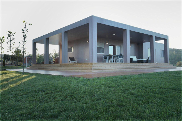 Maisons modernes par Casas Natura Moderne