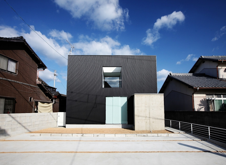 Modern houses by JMA(Jiro Matsuura Architecture office) Modern