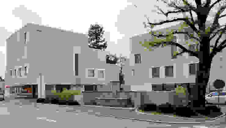 Überbauung Walke Moderne Häuser von Alberati Architekten AG Modern