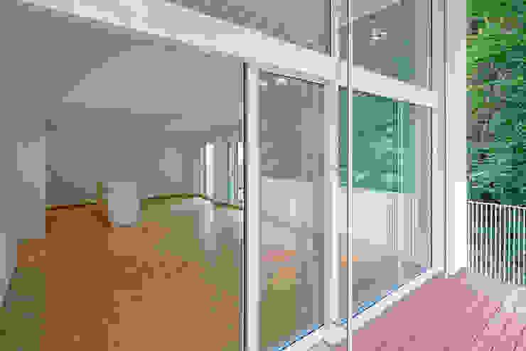 Überbauung Walke Moderne Wohnzimmer von Alberati Architekten AG Modern