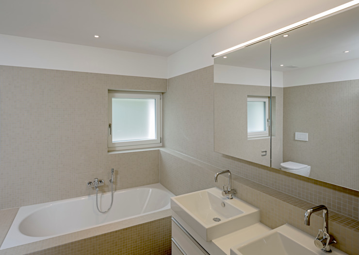 Überbauung Walke Moderne Badezimmer von Alberati Architekten AG Modern