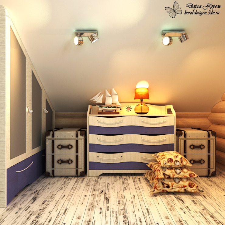 Country style nursery/kids room by Your royal design Country