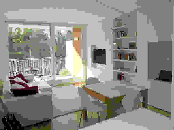 Appartamento a Segrate: Soggiorno in stile  di bdastudio
