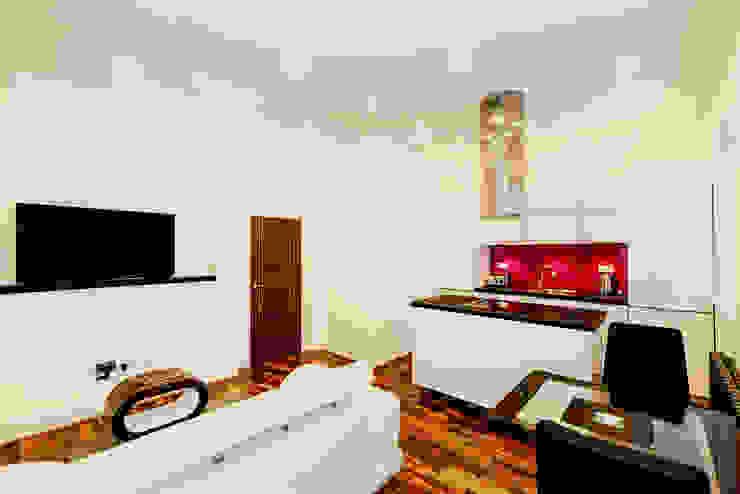 High Gloss Glamour Kitchen, Marylebone W1 Schmidt Palmers Green Cucina moderna