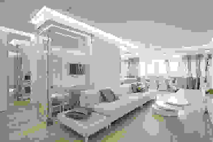 Ruang Keluarga oleh ANNA SHEMURATOVA \ interior design, Minimalis